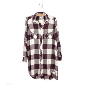 Aritzia Wilfred Free Veronika Oversize Shirt Dress